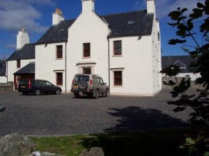 Our B&B in Thurso, Caithness.