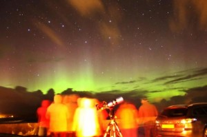 Northern Lights, Aurora Borealis, B&B, Hotel, Thurso